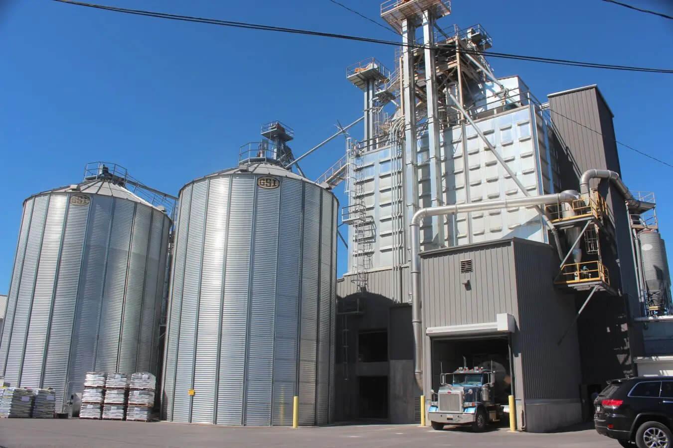 organic animal feed mill